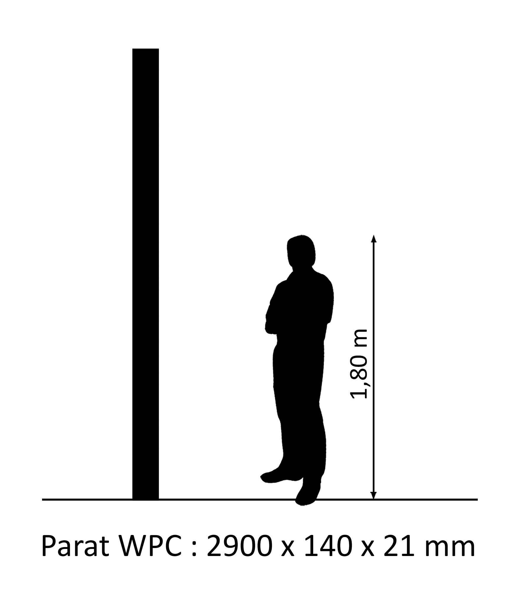 WPC Palubka 2,90m