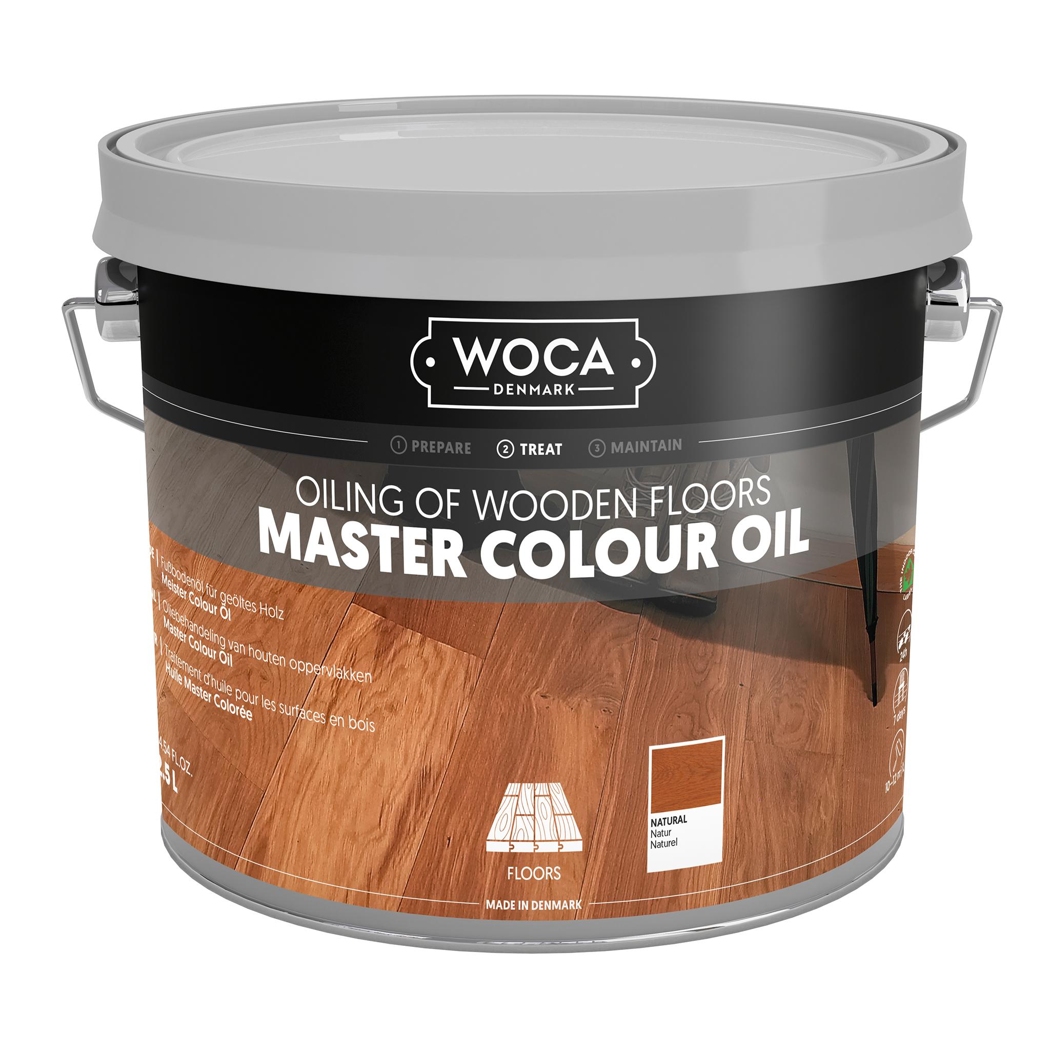 WOCA Meister Bodenöl natur 2,5 ltr.