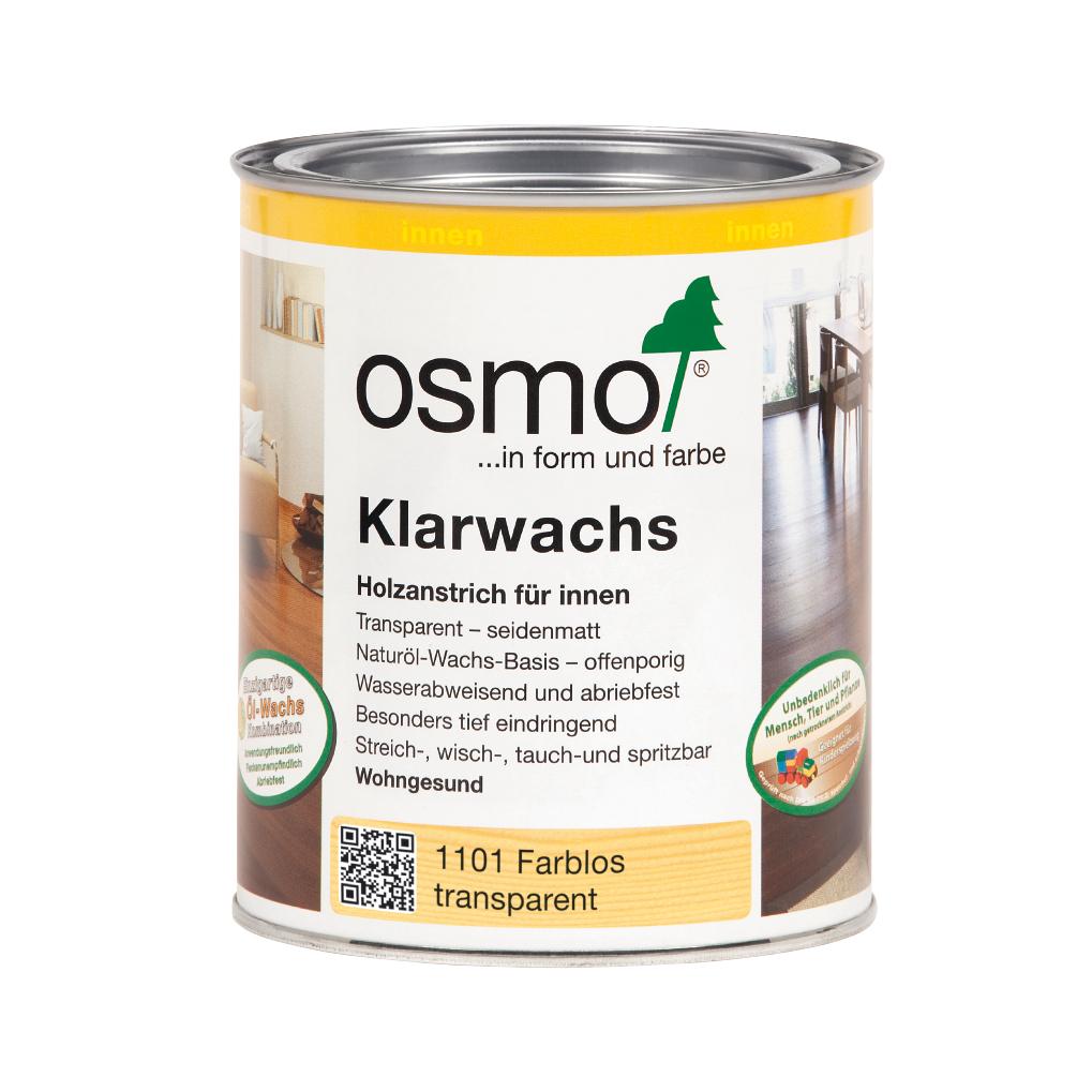 Osmo Klarwachs farblos 750ml
