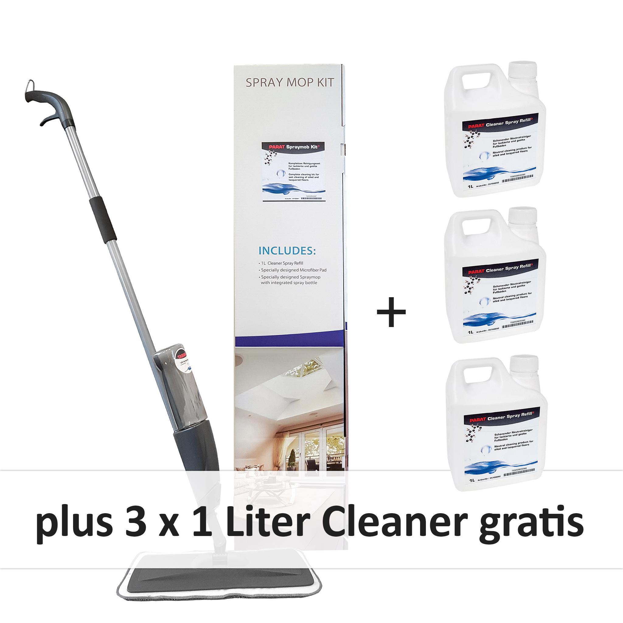 PARAT Spraymop Kit Reinigungsset inkl.