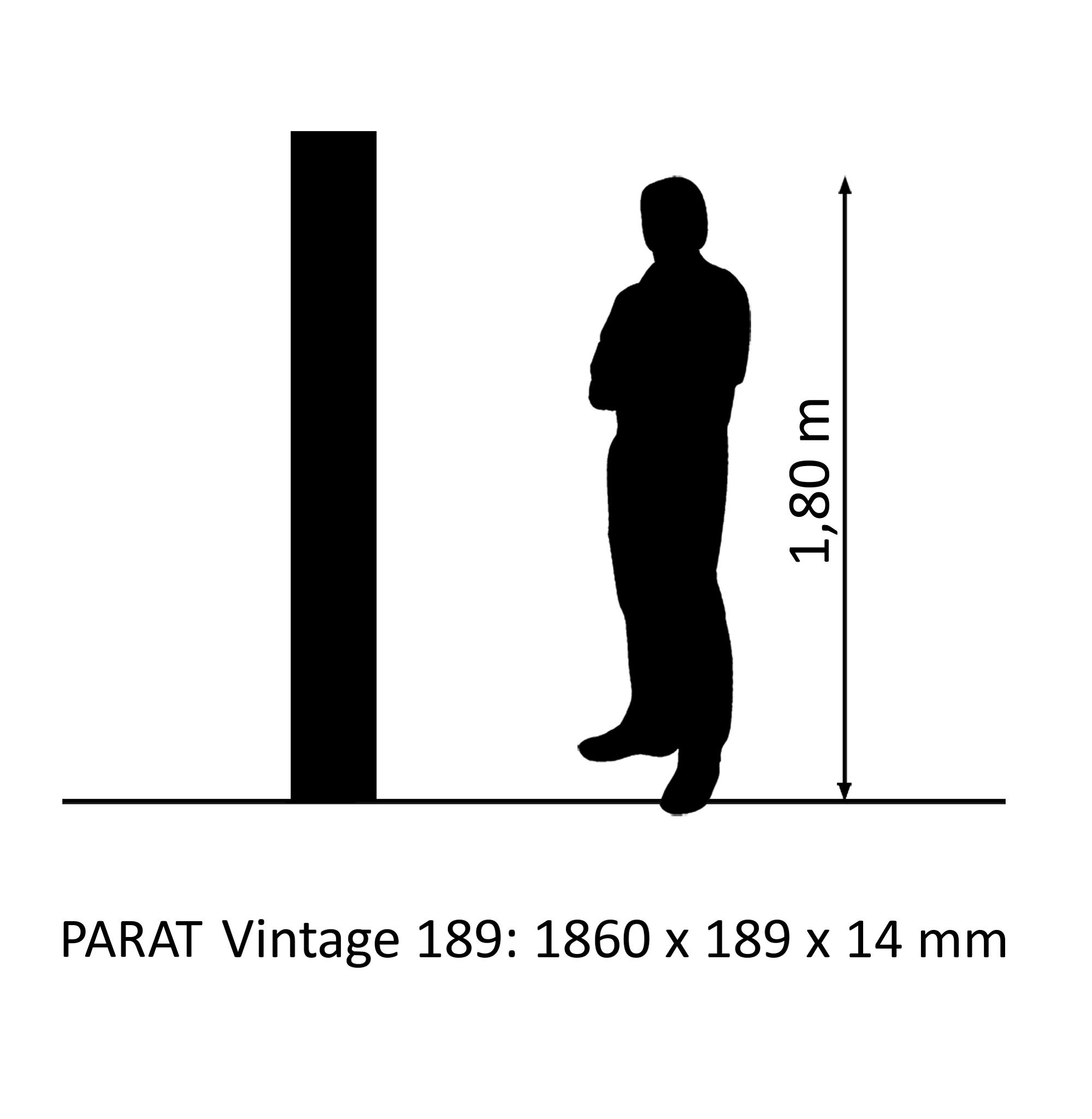 PARAT Vintage 189 oak rustic 1-strip