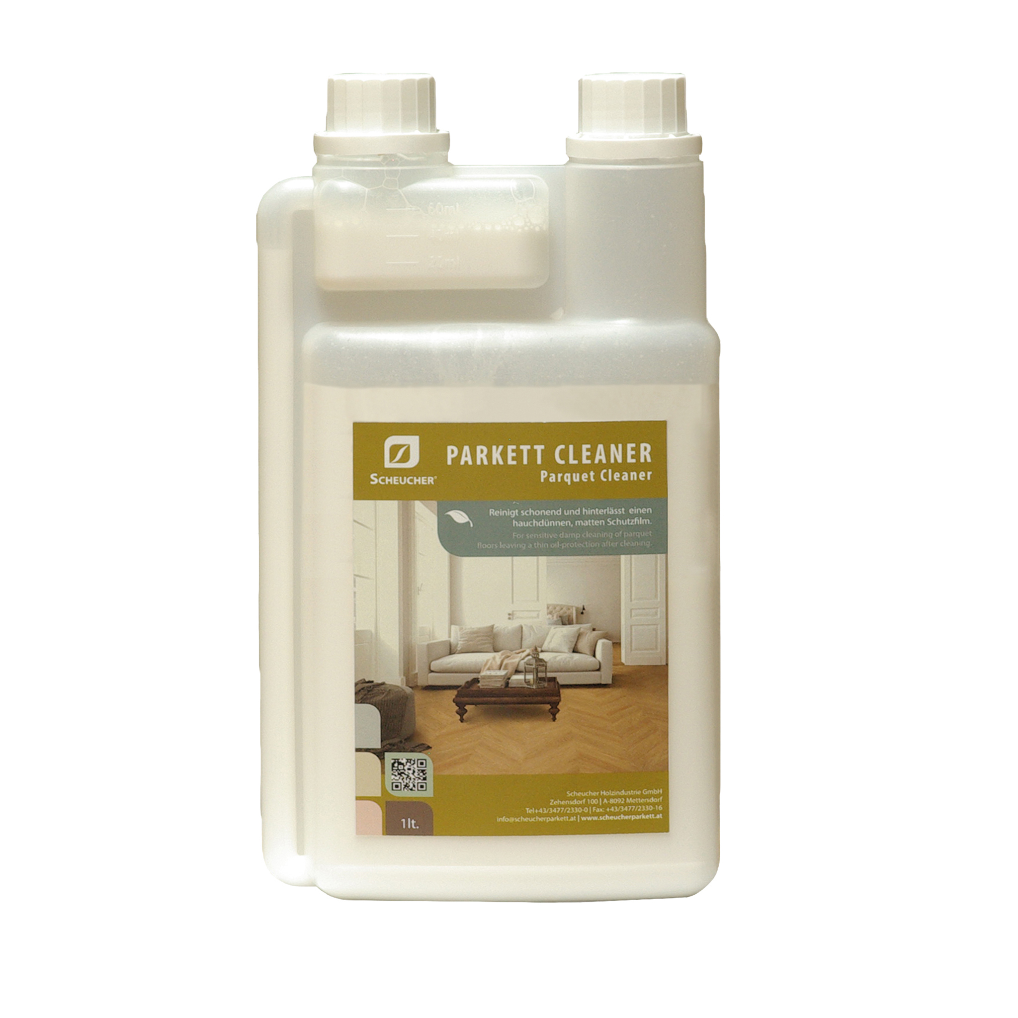 Scheucher Parkett Cleaner 1Liter