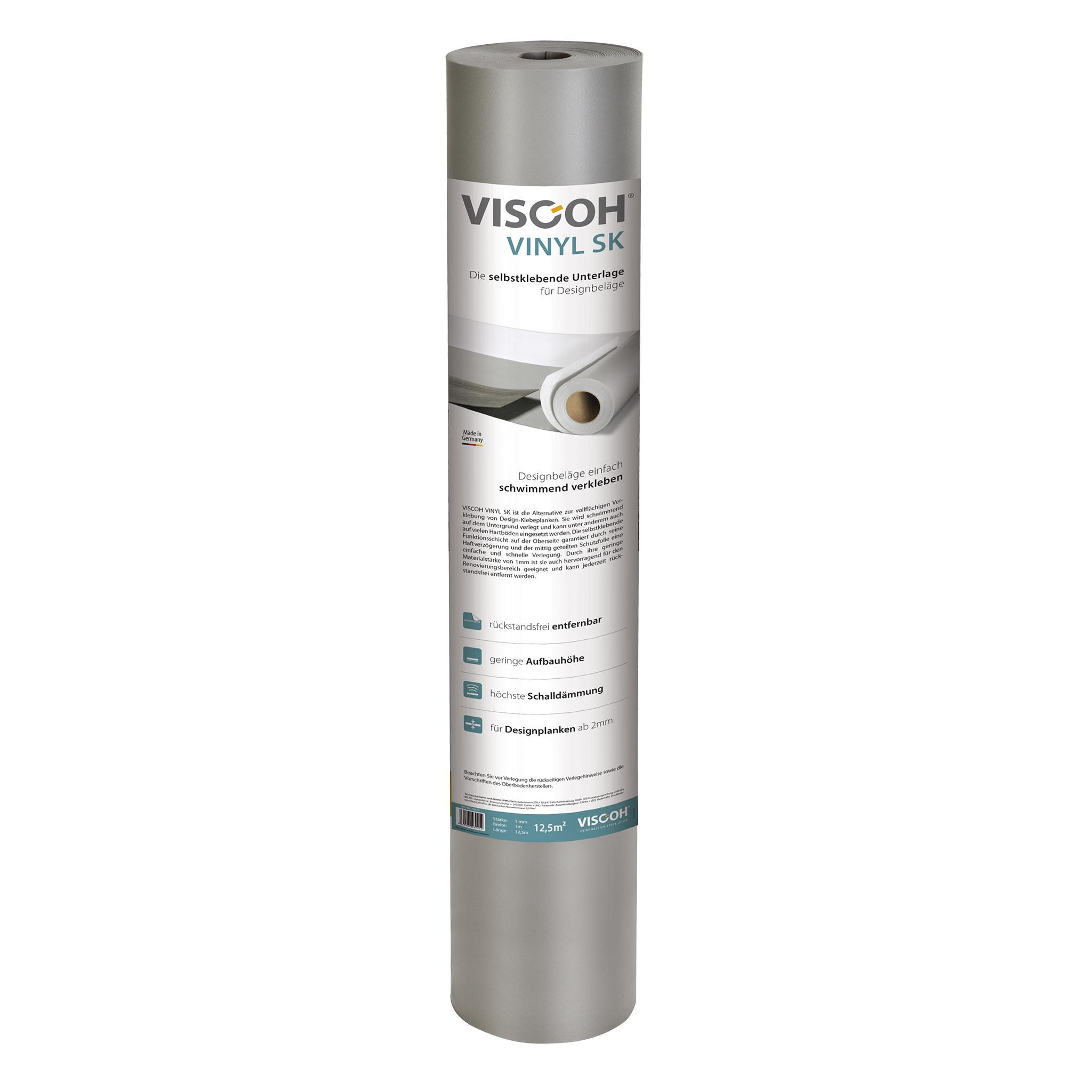VISCOH Vinyl 600 SK Dämmunterlage 1,0mm