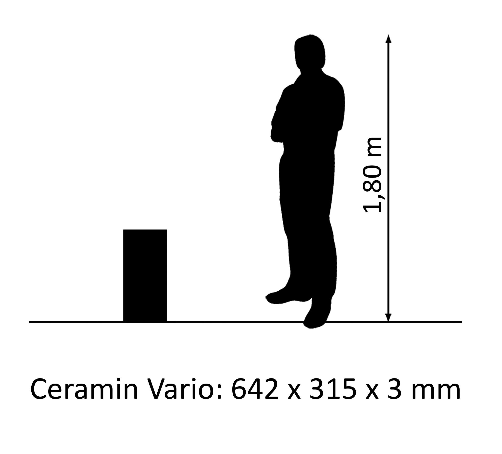 Ceramin Vario marble lime plaster white