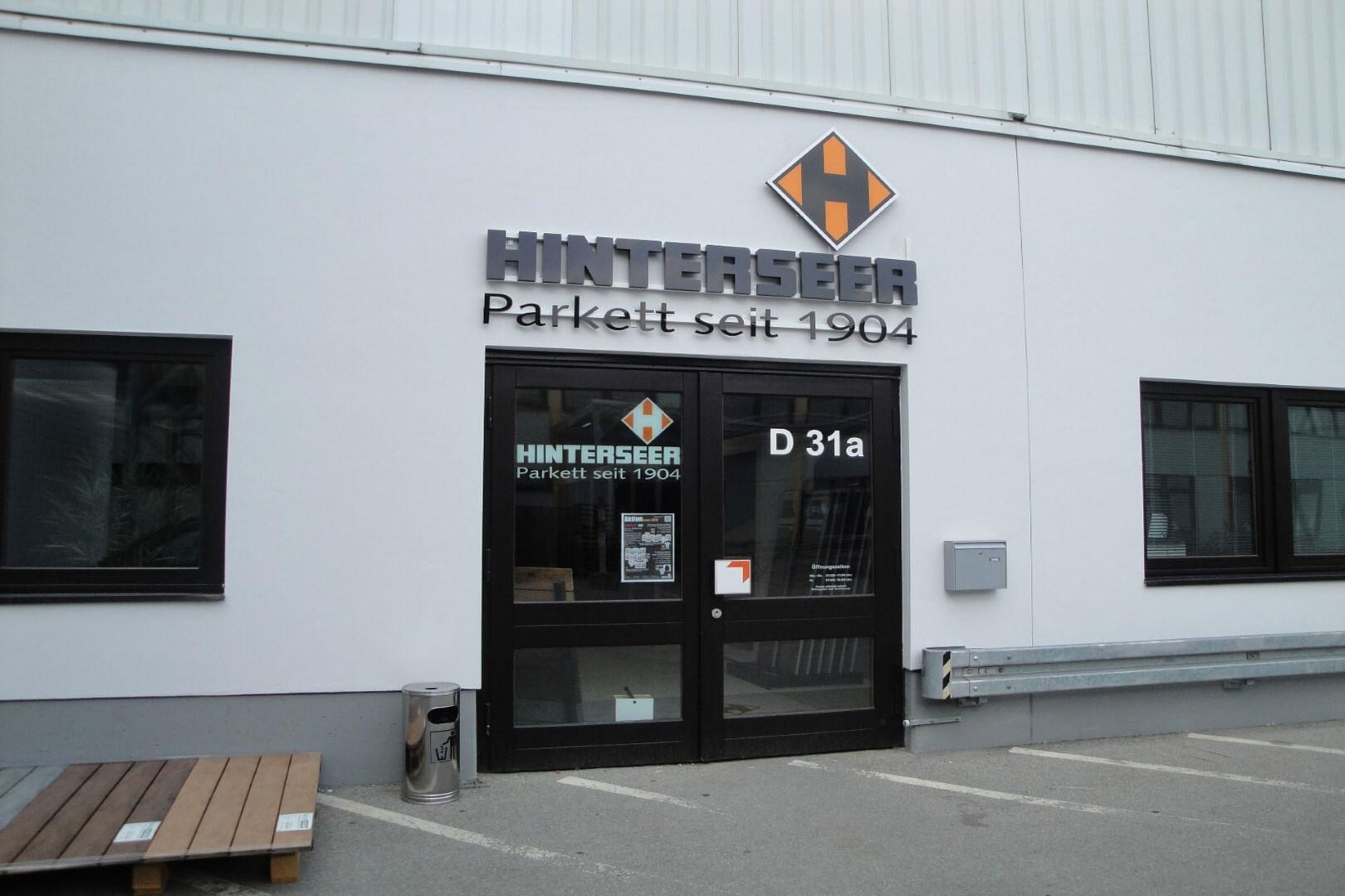 Hinterseer Parkett Berlin standorte